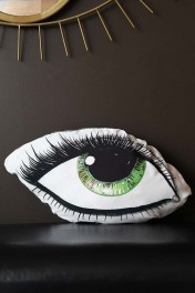 Green Eye Silk Cushion