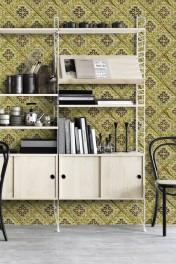 Mind The Gap Italian Tile Wallpaper