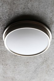 Ladbroke Satin Nickel Bathroom Ceiling Light