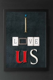 Unframed I Love Us Art Print