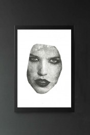 Unframed Masked 2 VII Art Print By Amber Devetta