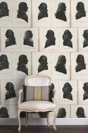 Mind The Gap Dutch Blauw Collection - Dutch Portraits Wallpaper