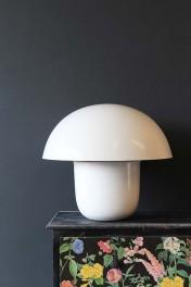 Mushroom Table Lamp - Ivory
