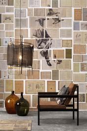 NLXL EKA-01 Biblioteca Wallpaper by Ekaterina Panikanova - Mural 1: Ducks