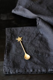 Linen Napkin Set - Black