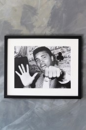 Unframed Paea Art Print - Mohamed Ali Poing
