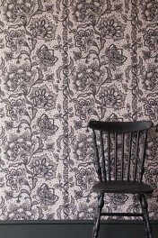 Rockett St George Boudoir Lace Wallpaper