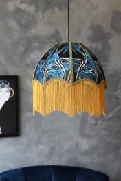 Anna Hayman Designs DecoFabulous Blue Dianne Pendant Shade