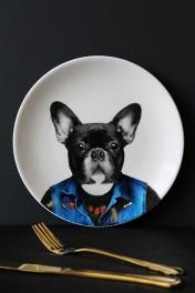 Wild Ceramic Plate - Dylan Dog