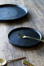 Faria Black Side Plate