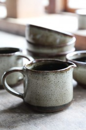 Natural Jolie Stoneware Milk Jug