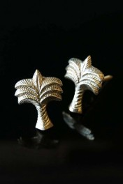 Set Of 2 Palm Tree Drawer Knobs