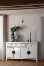 Oriental Gloss White Sideboard