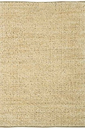 cutout image of Abacus Jute Rug - Sand - 120cm x 170cm on white background