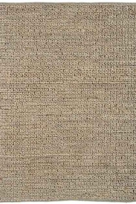 cutout image of Abacus Jute Rug - Taupe - 120cm x 170cm on white background