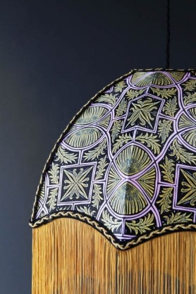 Anna Hayman Designs DecoFabulous Pink Sgt. Pepper Lamp Shade
