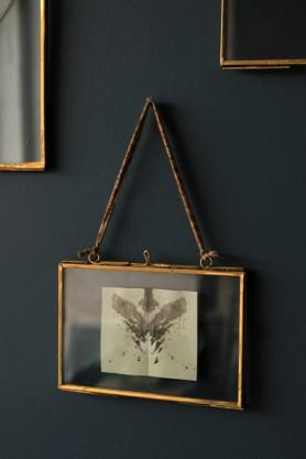 Brass & Glass Picture Frame - 4x6 Landscape