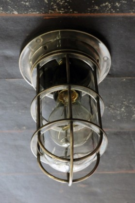 Bulkhead Ceiling / Wall Light on ceiling lifestyle image