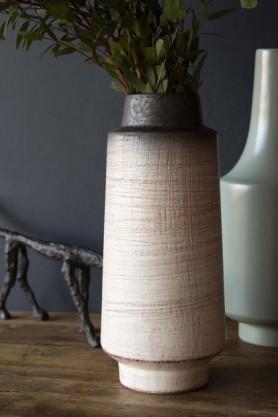 Ceramic Multi Tonal Artisan Vase