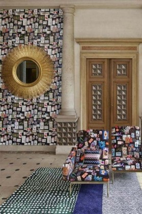 Christian Lacroix Incroyables et Merveilleuses Collection - Maison De Jeu Wallpaper - 6 Colours Available