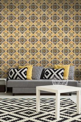 Mind The Gap Maghreb Tile Wallpaper