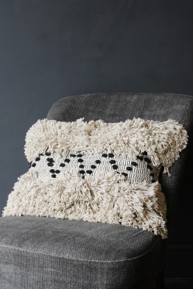 The Benni Cushion - Natural / Black
