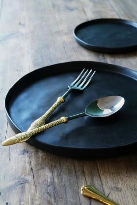 Faria Black Serving Platter