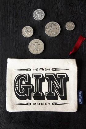 Gin Money Coin Purse