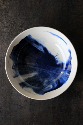 Indigo Storm Collection by Faye Toogood for 1882Ltd - Bowl