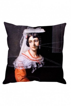 cutout image of Isabella Cushion on white background