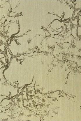 Image of Kyoto Wallpaper - Gold 01
