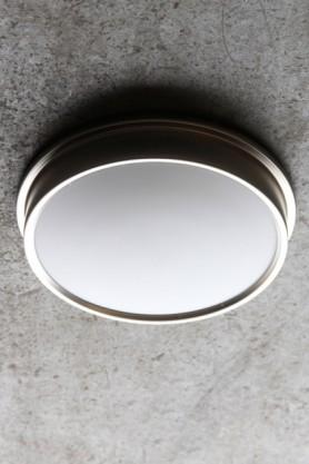 Ladbroke Satin Nickel Bathroom Ceiling Light