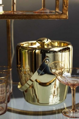 Lavish Gold Ice Bucket