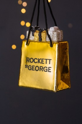 Image of the Rockett St George Bag Of Gifts Christmas Decoration