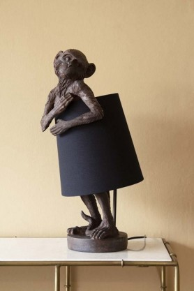 Lifestyle image of Marvin The Monkey Table Lamp