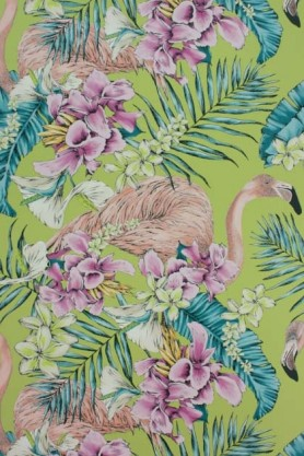 detail image of Matthew Williamson Flamingo Club Wallpaper