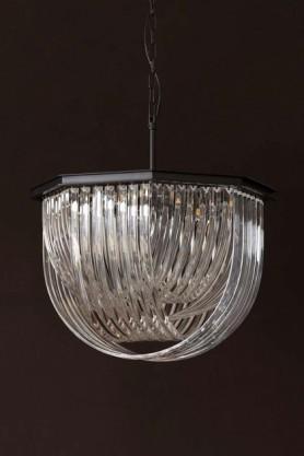 Opulent Crystal Pendant Ceiling Light