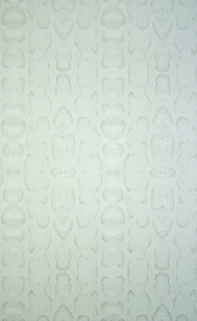 cutout Image of Osborne & Little Boa Wallpaper - Silver W6301-05 light vertical coloured snakeskin pattern