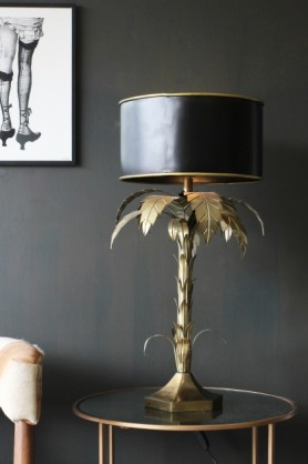 Palm Tree Table Lamp lifestyle image