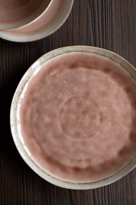 Image of the Rose Pink Pottery Dinner Plate