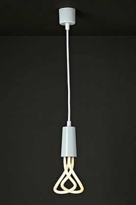 Plumen Flex and Fitting Pendant Set (Bulb Not Included) - White