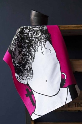 Rock Icon Tea Towel - Madonna