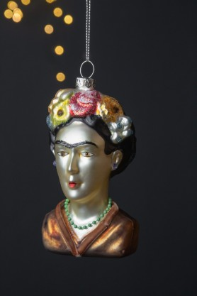 Image of the Frida Inspired Christmas Tree Decoration