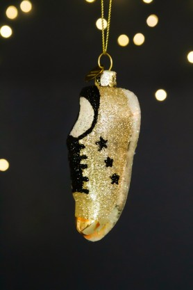 Image of the Glitter Sneaker Christmas Decoration