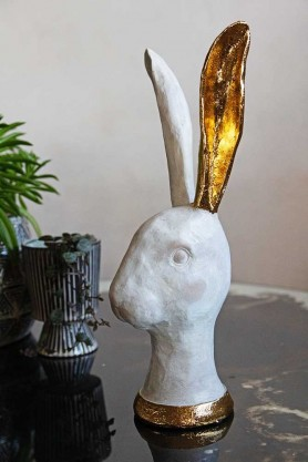 Image of the Gold Eared Bunny Ornament