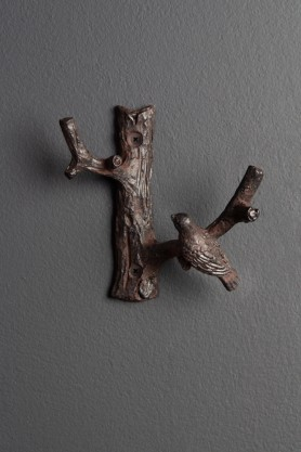Image of the Little Bird On A Branch Coat Hook