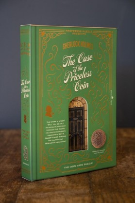 Image of the box for the Sherlock Holmes Game: The Case Of The Priceless Coin