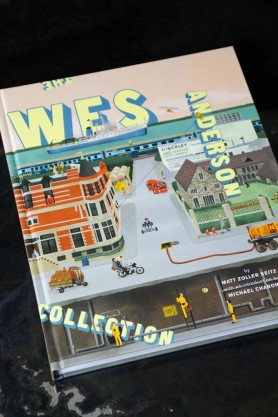 Image of the front cover of the The Wes Anderson Collection Book