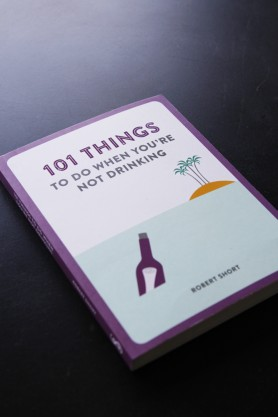 Image of the front cover on the book 101 Things To Do When You're Not Drinking