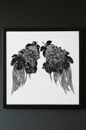 Limited Edition Leaf Wings Art Print